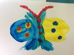 As our butterfly appeared to be