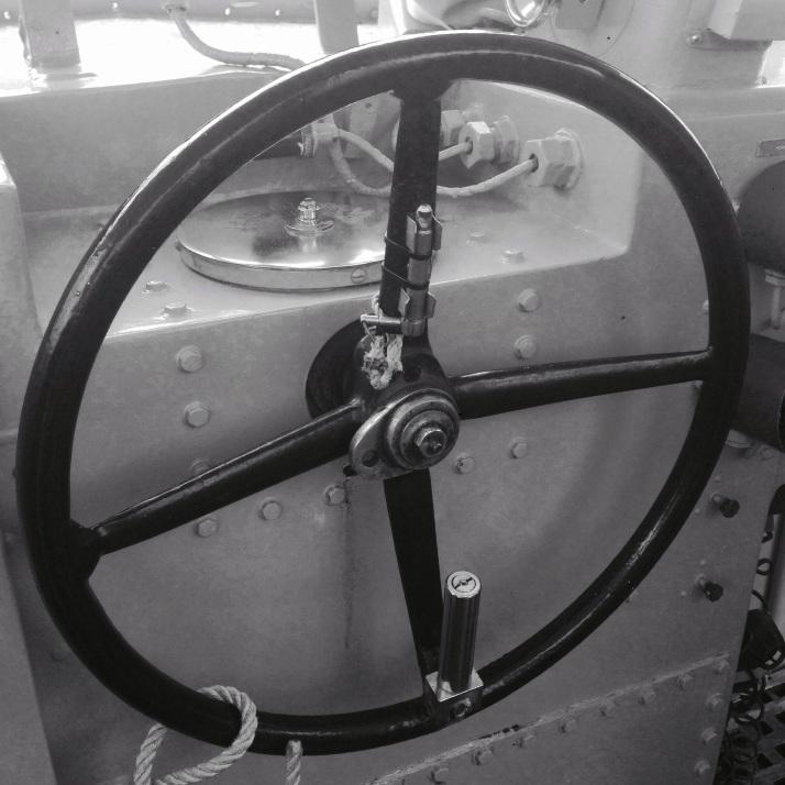 Maritime Ship Steering Wheel