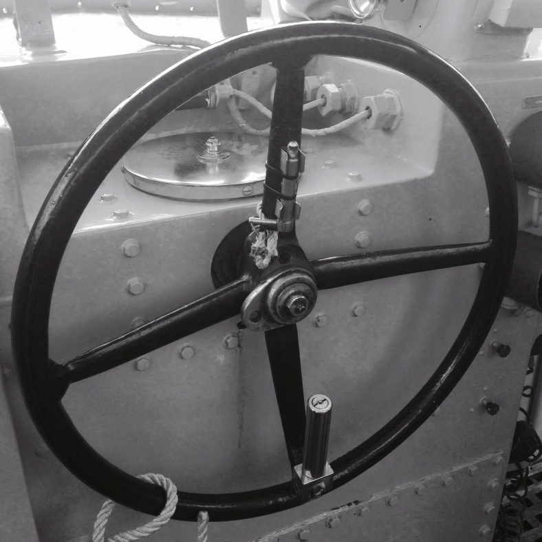 Maritime Ship Steering Wheel